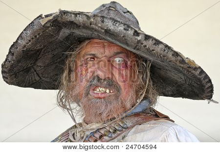 A Bandolero Of Helldorado Portrait, Tombstone, Arizona