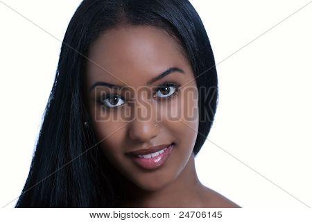 Smiling Ethnic Woman