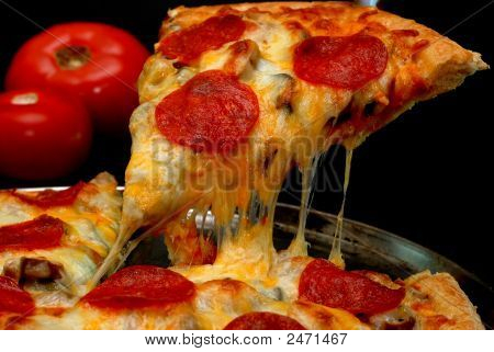 Pepperoni Pizza Slice