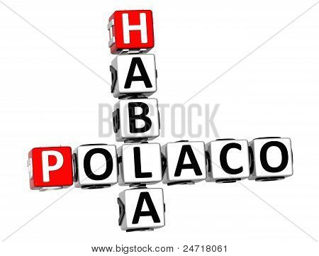3D Habla Polaco Crossword