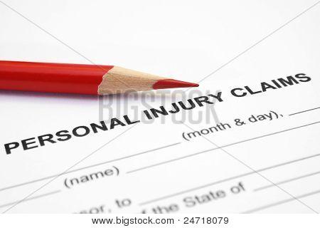 Reclamación de lesiones personales