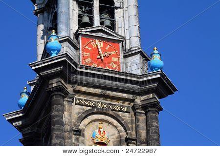 Westerkerk In Amsterdam The Netherlands