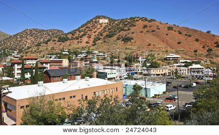 A View Of The 'B' Over Bisbee, Arizona