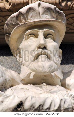 France, Paris, Rivoli Street: Statue Of Gaspard De Coligny