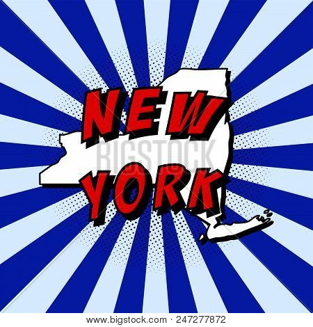 Map Of New York Us