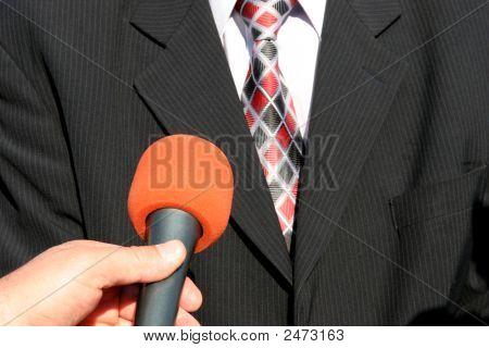 Entrevista na TV