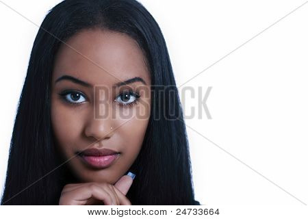 Ethnic Woman Face
