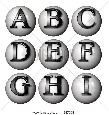Ball Letters