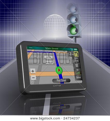 GPS y road