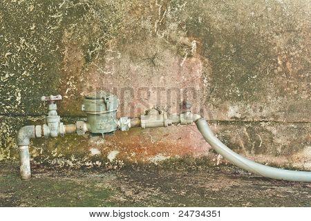 Old Water Meter