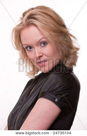 Attrractive Caucasian Woman