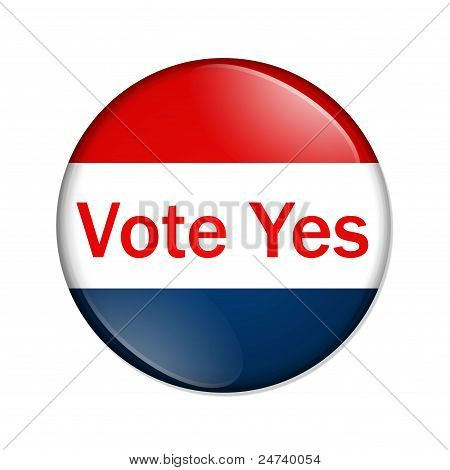 Vote Yes Button