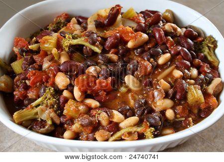 Nutritious Vegetarian Chili