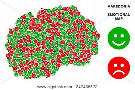 Emotion Makedonia Map Composition Of