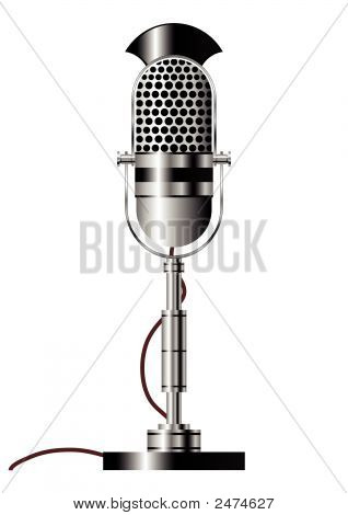 Vintage Microfone