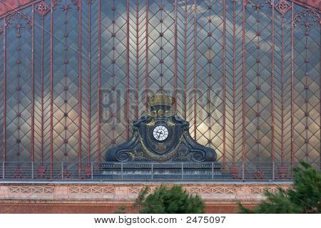 Atocha Station Clock External