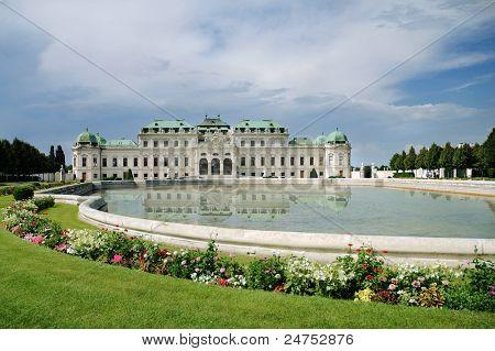 Summer Palace Belvedere In Vienna