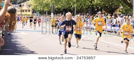 Kids Marathon Run Race