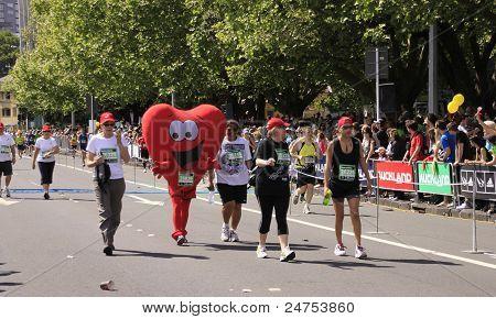 Marathon Run Race Heart