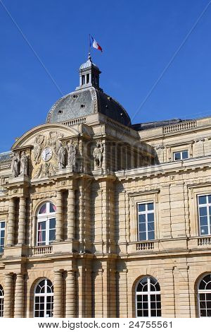 Luxemburg Palace In Paris