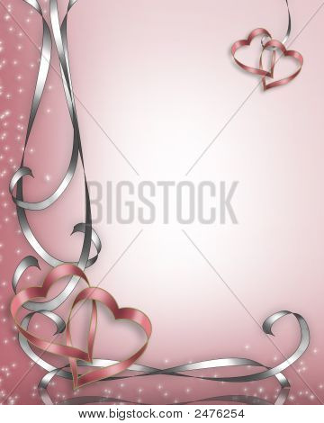 Wedding Invitation Or Valentine Background