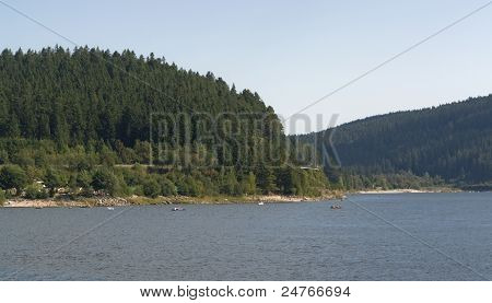 Schluchsee In Southern Germany