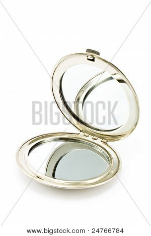Round Pocket Makeup Mirror