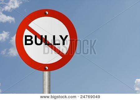 Stop Bully Sign