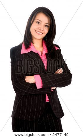 Business Woman Portrait - Isolated