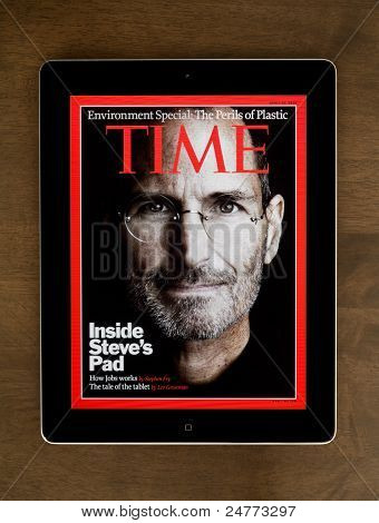 Steve Jobs On Cover