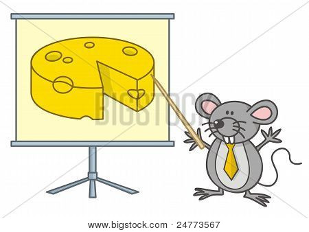 Mouse Businessman