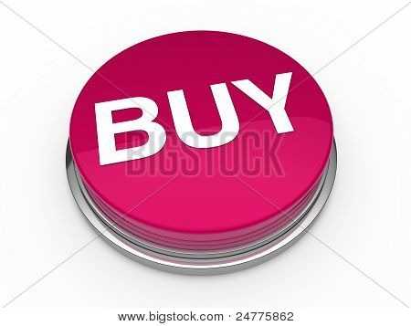 3D Button Buy Pink