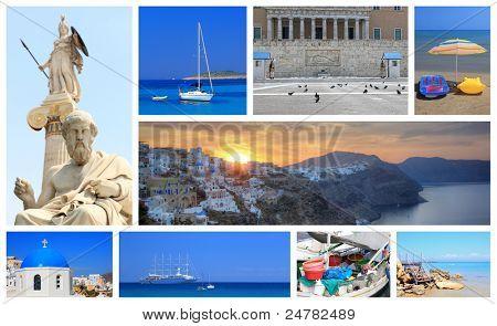 Fotos de verano de Grecia