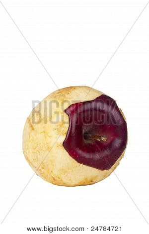 Decaying Red Delicious Apple