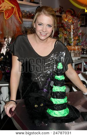 LOS ANGELES - OCT 27:  Melissa Joan Hart at her candy store