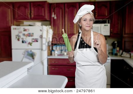 Mujer Chef