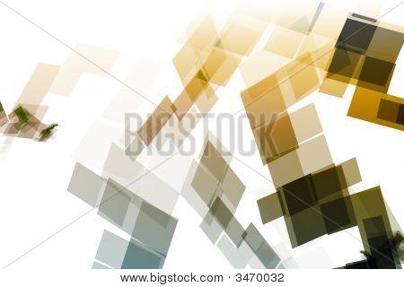 Gold Blue Mechanical Tech Blocks