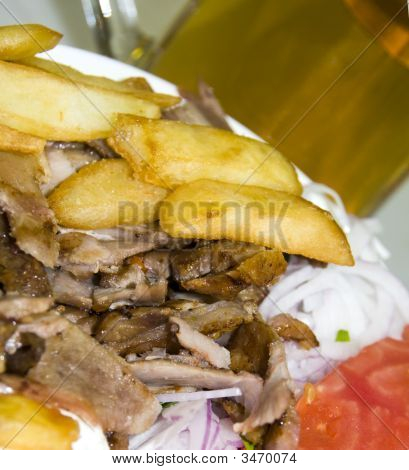 Gyro Plate Dinner Greece