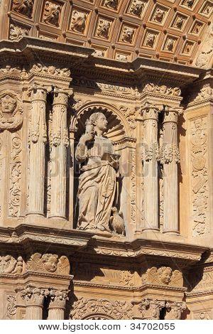 Basreliefs in Palma de Mallorca Cathedral