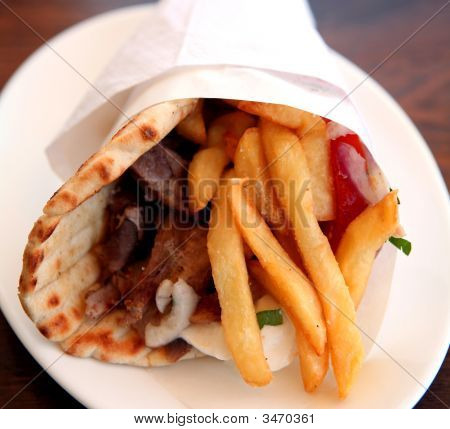 Greek Souvlaki Gyros