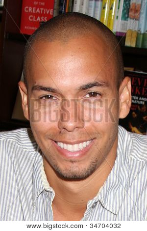 LOS ANGELES - JUL 8:  Bryton James at the William J. Bell Biography Booksigning at Barnes and Noble on July 8, 2012 in Costa Mesa, CA