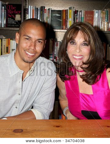 LOS ANGELES - JUL 8:  Bryton James, Kate Linder at the William J. Bell Biography Booksigning at Barnes and Noble on July 8, 2012 in Costa Mesa, CA