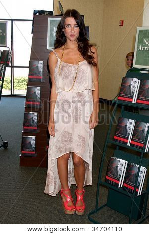 LOS ANGELES - JUL 8:  Jacqueline MacInnes Wood at the William J. Bell Biography Booksigning at Barnes and Noble on July 8, 2012 in Costa Mesa, CA