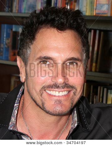 LOS ANGELES - JUL 8:  Don Diamont at the William J. Bell Biography Booksigning at Barnes and Noble on July 8, 2012 in Costa Mesa, CA
