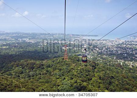 Air Tram View