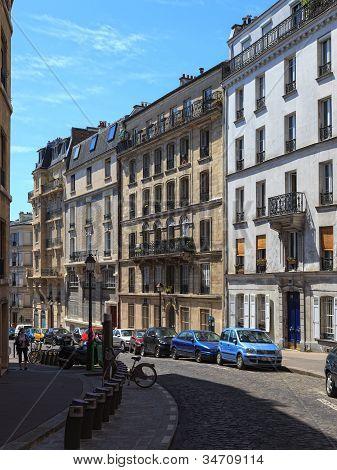 Charming Streets Of Paris