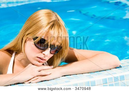 Swim In The Blue Water