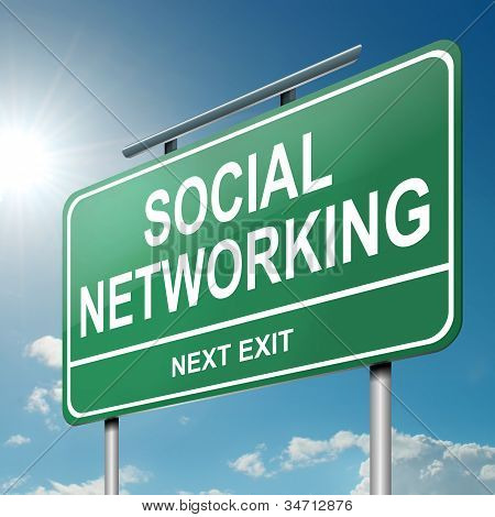 Social Networking Concept.