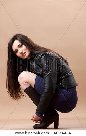 Lovely Brunette Portrait