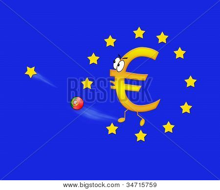 Euro And Portugal.